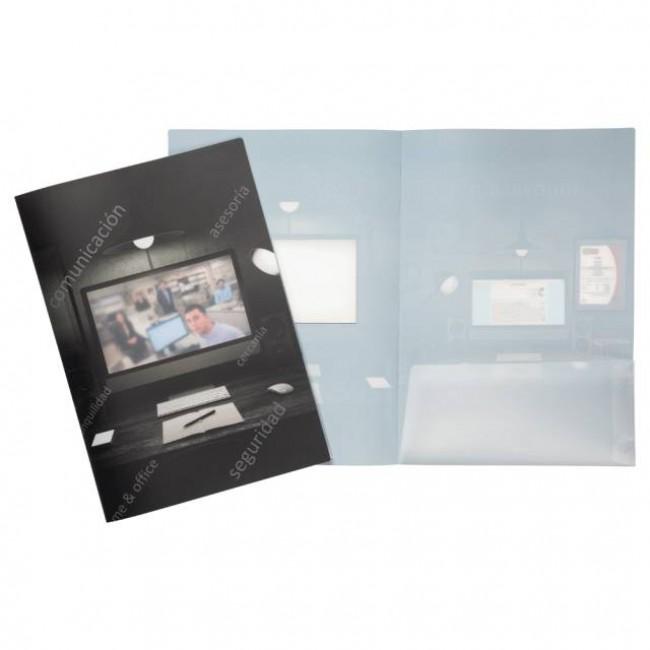 Triple Q: Carpetas, fundas,sobres y dosiers para gestorias y asesorias.carpetilla de polipropileno tipo dosier con original ventana traslucida.1592310217CP037B_XxPpAcW1000_carpeta-polipropileno-para-la-protección-de-documentos-personalizable.jpg